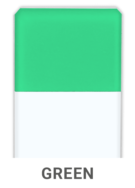 Microscope Slides Green
