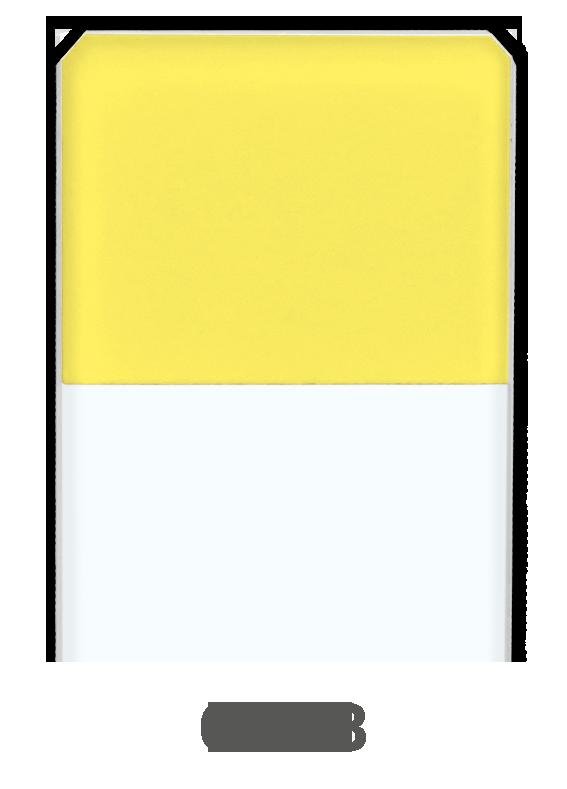 Objektträger Gelb