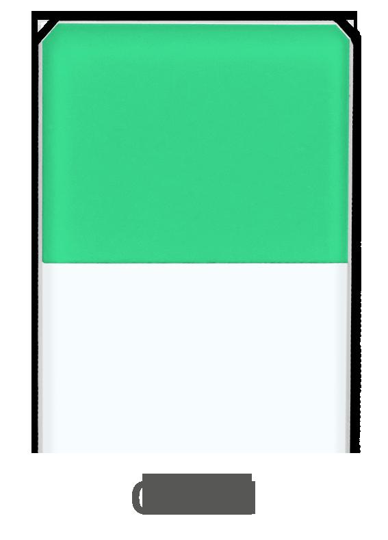 Objektträger Grün