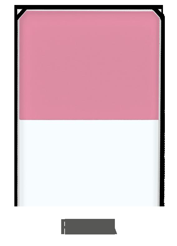 Objektträger Rosa