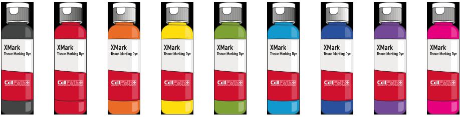 Gewebemarkierungsfarbe XMark in 9 Farben